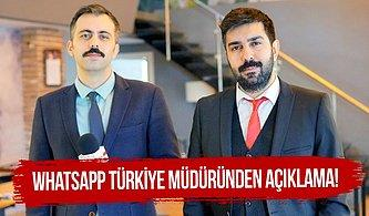 Whatsapp Türkiye Müdüründen Açıklama: 'Ufak Dinlemeler Yaptık'