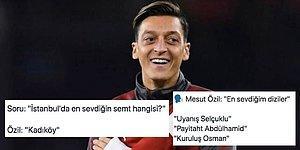 Mesut Özil Twitter'da Kendisine Yöneltilen Sorulara Verdiği Cevaplarla Gündeme Oturdu