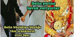 Evlenmeden Önce Bin Kere Düşünün: Türkiye'nin Dört Bir Yanından Hepimizi Şaşkına Çevirecek 14 Düğün Geleneği