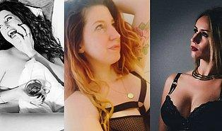 Seksi Fotoğraflar Paylaştığı İçin Ceza Alan Psikoloğa Instagram'da Seksi Pozlu Destek Geldi!