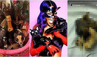 Şarkıcı Azealia Banks, Ölmüş Kedisini Mezarından Çıkarıp Pişirdiği Görüntüleri Canlı Yayında Paylaştı!
