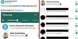 Twitter'dan Sahte WhatsApp Görseli Paylaşan Kocaeli Belediyesi'ne CHP'nin Verdiği Kapak Gibi Cevap