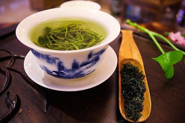 6. Yeşil çay