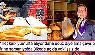İsraf mı Yoksa Ekonomik Kriz Nedeniyle mi Uygulandığı Konusunda İnsanların Netleşemediği Yarım Ekmek Satışı