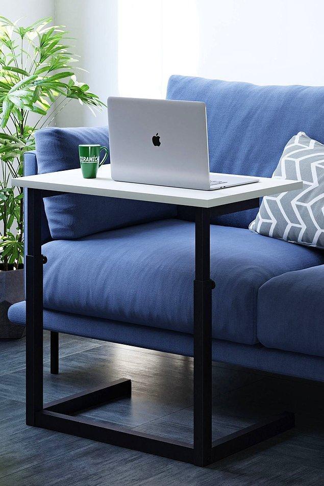 3. Evi artık ofis olanlara: Laptop sehpası