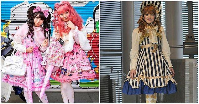 19. Hafta sonları sokakta anime karakteri gibi giyinmiş genç kızlarla karşılaşabilirsiniz.