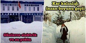 Efsanevi 1987 Kar Fırtınası: İstanbul'da Kar Boyunun 4 Metreyi Geçtiği Günlerce Süren Bembeyaz Fırtınası