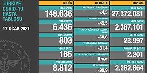Koronavirüs Türkiye: 24 Saatte 165 Ölüm, 6.436 Yeni Vaka
