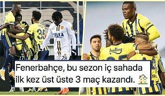 Fener'e Yan Bakılmıyor! Ankaragücü'nü 3 Golle Geçen Fenerbahçe Galibiyet Serisini 5 Maça Çıkardı