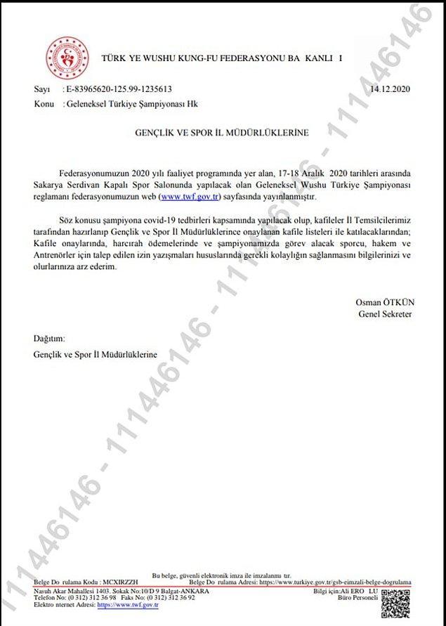 Federasyonun Başkanvekili Abdurrahman Akyüz'e yakınlığıyla bilinen kulüplere ise önceden haber verildi.