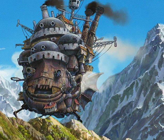 Howl's Moving Castle – Yürüyen Şato (2004)