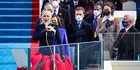 Lady Gaga, Joe Biden'ın Yemin Töreninde ABD Milli Marşı'nı Söyledi