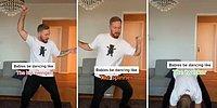 Bebeklerin Dans Şekillerini Taklit Eden Adamın Aşırı Eğlenceli Videosu