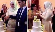 Düğün Pastasını Kestikten Sonra Pastayı Damada Yedirmek Yerine Başka Bir Kadına Yediren Gelin