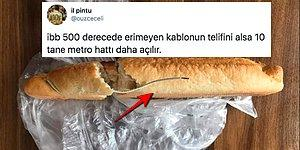 İBB Halk Ekmek'ten Aldığı Ekmeğin İçinden Kablo Çıktığını İddia Eden Kadına Gelen Yaratıcı Yorumlar