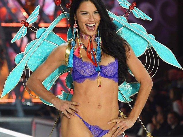 8. Milli yengemiz, bir ara bize birçok şeyi sorgulatan Adriana Lima!