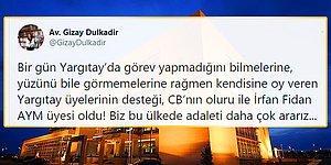 Erdoğan'ın Anayasa Mahkemesi Üyeliğine Atadığı İsim Tartışılıyor