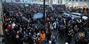 Tutuklanan Muhalif Lider İçin Rusya Sokaklara Döküldü: Binden Fazla Putin Karşıtı Gözaltına Alındı