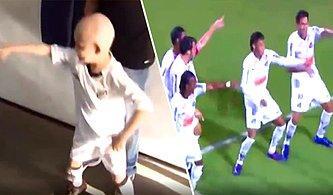 Gol Atınca Nasıl Sevinmesi Gerektiğini Gösteren Lösemi Hastası Çocuğun Dansını Yapan Neymar ve Arkadaşları