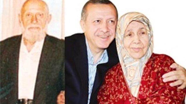 Zor bir babası vardı. Reis Kaptan'dı adı. Tayyip Erdoğan onu kızdırdığı zaman biraz sertleşirmiş. Erdoğan'ın anlattığına göre onu tavana bile asarmış. Erdoğan siniri geçsin diye babasının ayakkabılarının ucunu öpermiş. Sert ve çabuk öfkelenen bir babanın oğlunun da genetik olarak aynı özelliklere sahip olması son derece normal.