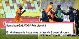 Cimbom Babel'le Güldü! Kötü Zeminin Damga Vurduğu Maçta Galatasaray, Malatya'dan 3 Puanla Döndü