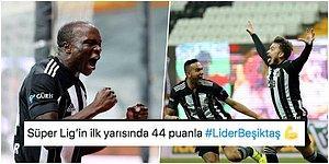 Kartal'ın Zirveyi Bırakmaya Niyeti Yok! Beşiktaş Geriye Düştüğü Maçta Göztepe'yi Devirerek Yoluna Devam Etti