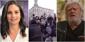 Nevşin Mengü ile Cüneyt Arkın Arasında 'Rus Aktivist' Atışması
