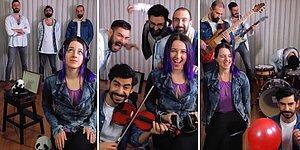 'Believer' ve ' Seviyorum Sevmiyorum' Şarkılarını Kendi Tarzlarında Coverlayan Ekipten Muhteşem Çalışma