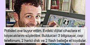 Erdil Yaşaroğlu Karikatürü Paylaştığı İçin Bilgisayarı ve Telefonuna El Koyulan Öğretmenin Şoke Eden İddiaları