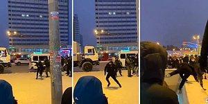 Moskova'daki Protestolar Sırasında Polisin Elinden Kaçan Gencin Adrenalin Dolu Kaçış Anı