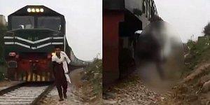 TikTok Videosu Çeken Genç Arkasından Gelen Trenin Çarpması ile Yaşamını Yitirdi
