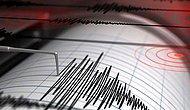Mersin'de Korkutan Deprem!  İşte Meydana Gelen Son Depremler