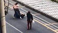 Aydın'da Genç Kadın Terör Estirdi! Bıçakla Saldırdı, Yere Yatırıp Darp Etti