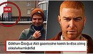 Gökhan Özoğuz'un Yıllardır Kavgalı Olduğu Yeni Akit Gazetesinin Önünde Çektiği Video Herkesi Güldürdü