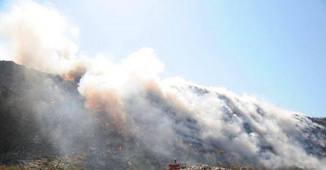 Üç yılda 132 yangın çıktı