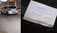 Savcının Aracına 'Hatalı Park Etmişsiniz' Notu Bırakan Vatandaş Hakkında Soruşturma Başlatıldı
