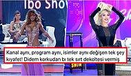 Kıyafet Sansürü mü? İbo Show'a Çıkan Oryantal Didem'in Sıfır Dekolteli Dansöz Kıyafeti Tartışma Yarattı