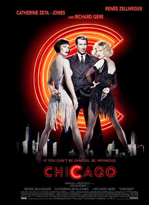 9. Chicago (2002) IMDb: 7,2