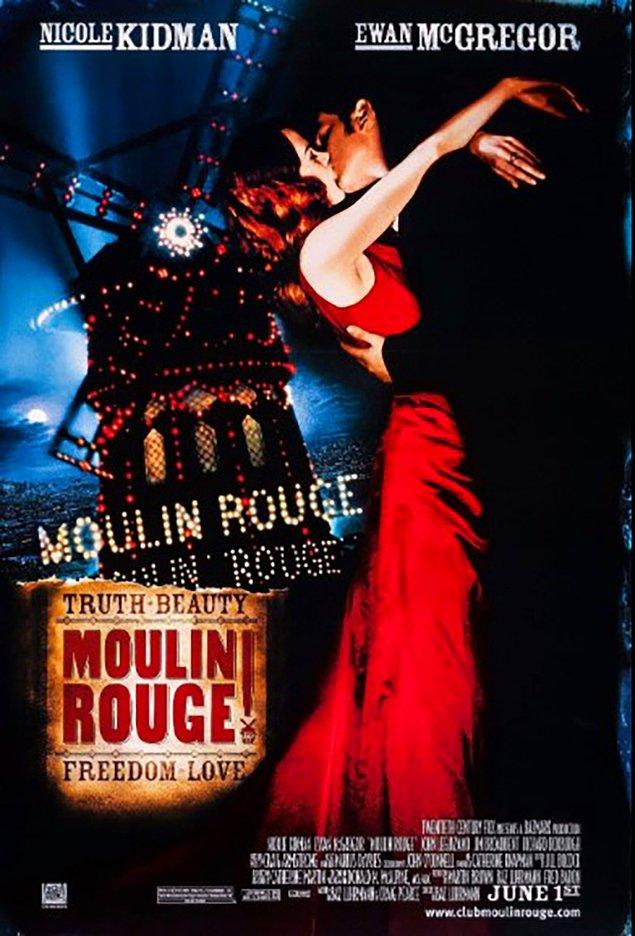 4. Moulin Rouge! (2001) IMDb: 7,6