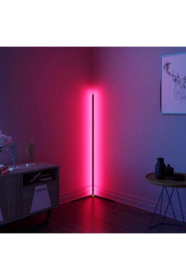 21. Odanızın havasını değiştirmek için bu lambaderi almanız yeterli.