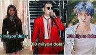 Dünyayı Kasıp Kavuruyorlar! En Zengin K-Pop İdollerini Sizler İçin Açıklıyoruz