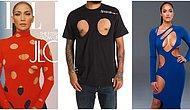 Beklenmedik Yeni Bir Tuhaf Ama Seksi Trend Alarmı: Büyük Delikli Kıyafetler