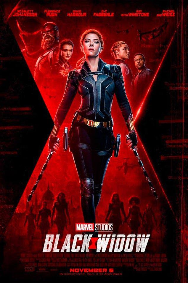 1. Black Widow