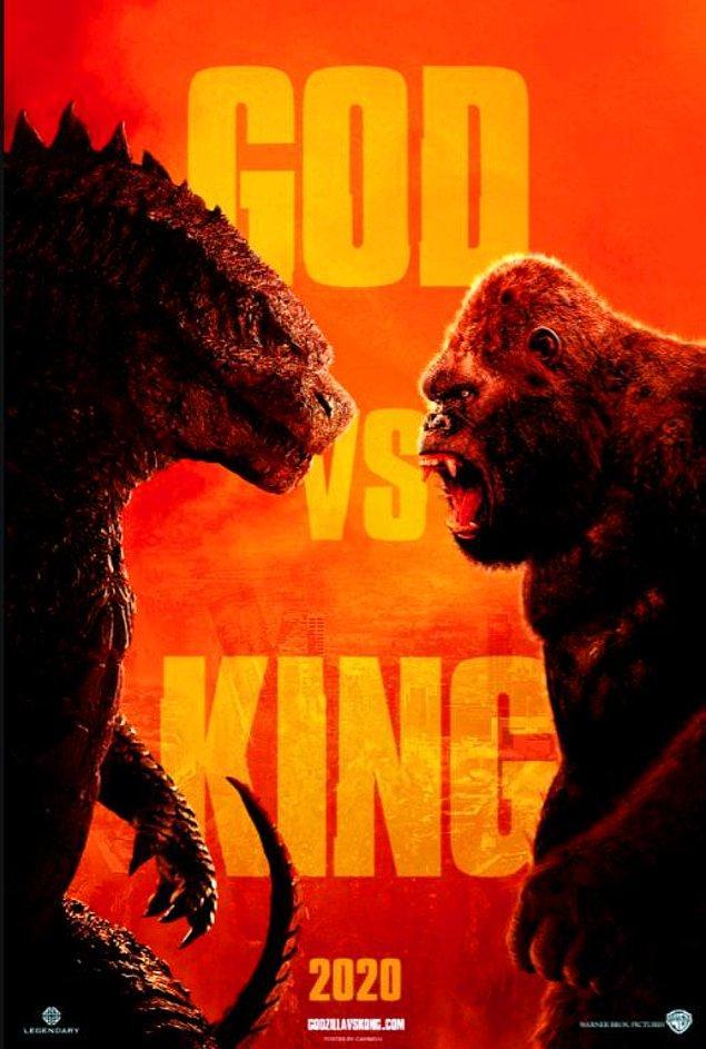 11. Godzilla vs. Kong