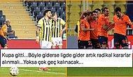 Kanarya'dan Veda! Fenerbahçe, Başakşehir'e Yenilerek Türkiye Kupası'ndan Çeyrek Finalde Elendi