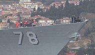 Savaş Gemisinden İstanbul'u Seyrettiler: ABD Askerlerinin Boğaz Keyfi