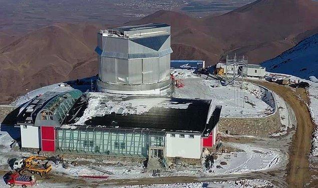 Türkiye'nin ilk kırmızı ötesi teleskobu