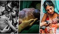 Dışarıdan Göründüğü Gibi Değilmiş! Doğum Esnasında ve Sonrasında Çekilmiş En Çarpıcı 19 Fotoğraf