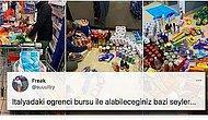İtalya'daki Türk Öğrencinin Bursuyla Yaptığı Market Alışverişini Görünce Sinirleriniz Bozulacak