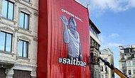 Galata'da Tarihi Binayı Örten Nusret Posterine Tepki: 'Kültür Varlığı Mevzuatına Aykırı'